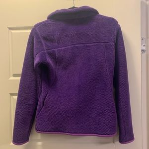 Women's Patagonia fleece purple